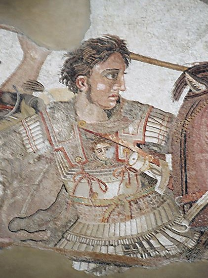 Alexander at the battle of Issus