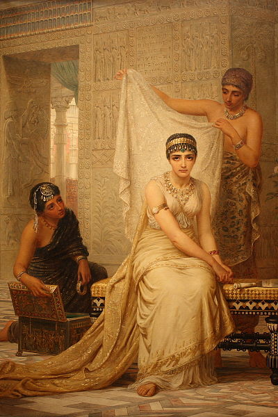 Esther in the harem