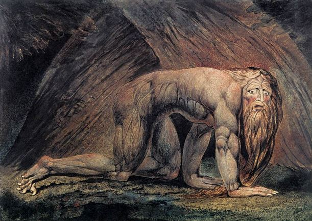 Old Nebuchadnezzar by William Blake
