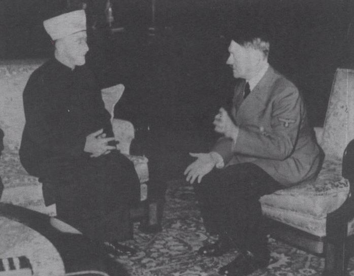 The Grand Mufti meets Hitler in Berlin