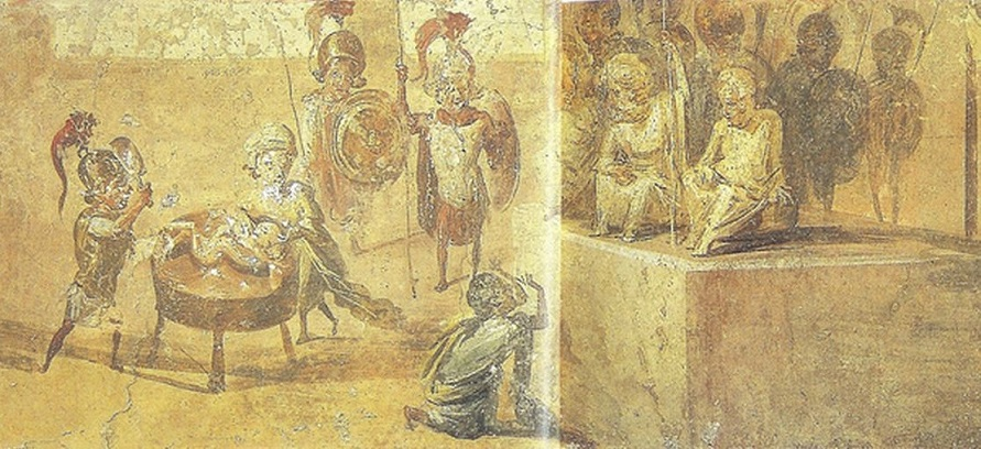The Judment of Solomon - House of the Doctor in Pompeii