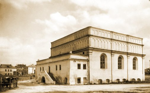 The synagogue of Brody