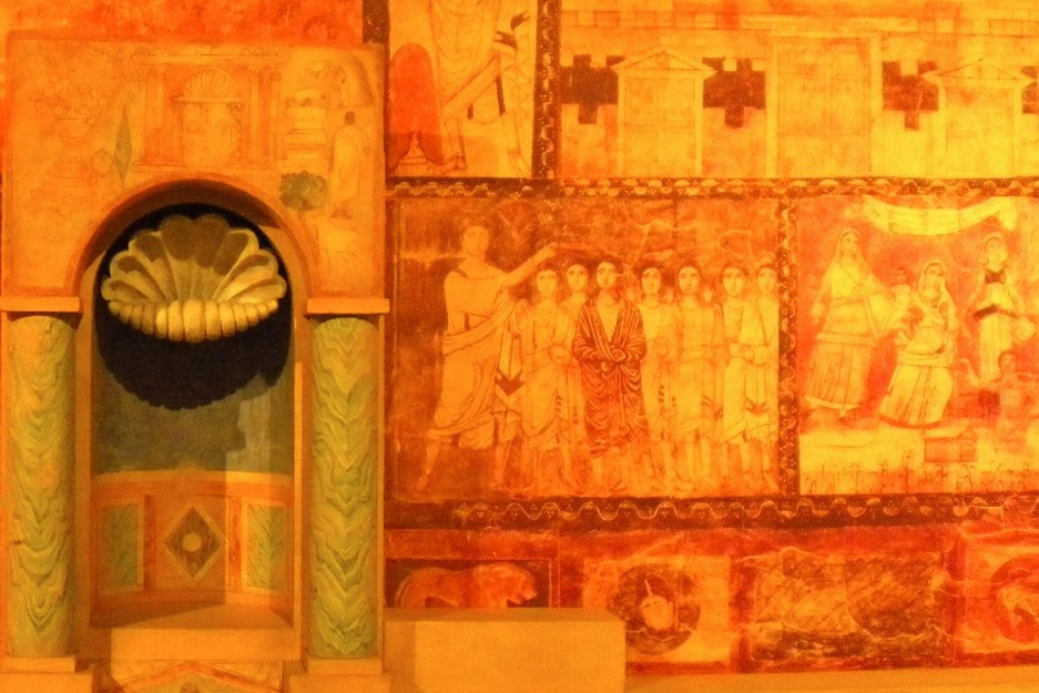 Frescoes from Dura-Europos synagogue