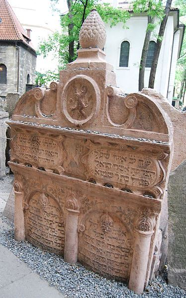 Tomb of the Maharal of Prague
